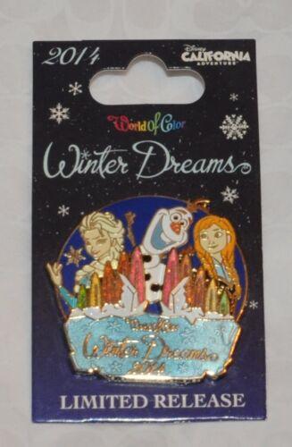 Disney/'s California Adventure World of Color Winter Dreams Pin 2014