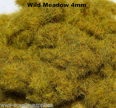 WWS 4mm Pasture Flock Static Grass Hornby Peco Railway Scenery