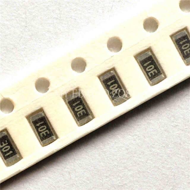 1000PCS 100K ohm Ω 100KR 5% 1206 1/4W SMD Chip Resistor 3.2mm×1.6mm
