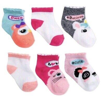 6 Pair//Pack Spandex Socks for Baby /& Toddler