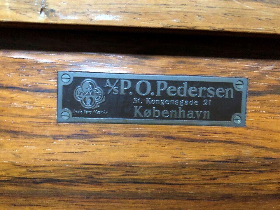 Billardbord, P.O.Pedersen