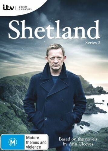 1 of 1 - Shetland : Series 2 (DVD, 2016, 2-Disc Set)**R4**Excellent Condition