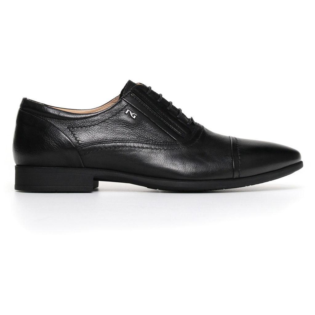 Scarpe casual da uomo  Scarpa elegante classica NeroGiardini uomo nuovacollezione P800111U nero