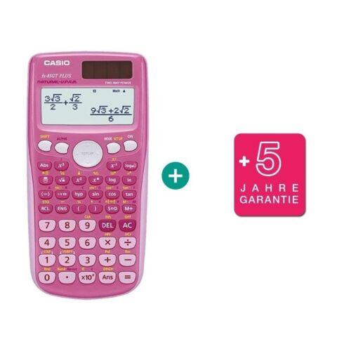 pink Casio FX 85 GT Plus erweiterte Garantie