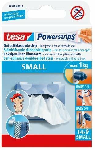 14 S TESA Powerstrips extraíble autoadhesivo cuadro o cartel Colgante Tiras