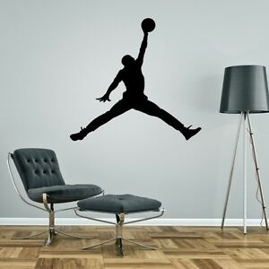 Image Is Loading NIKE JORDAN Wall Sticker UK SELLER Art Decal  Part 36