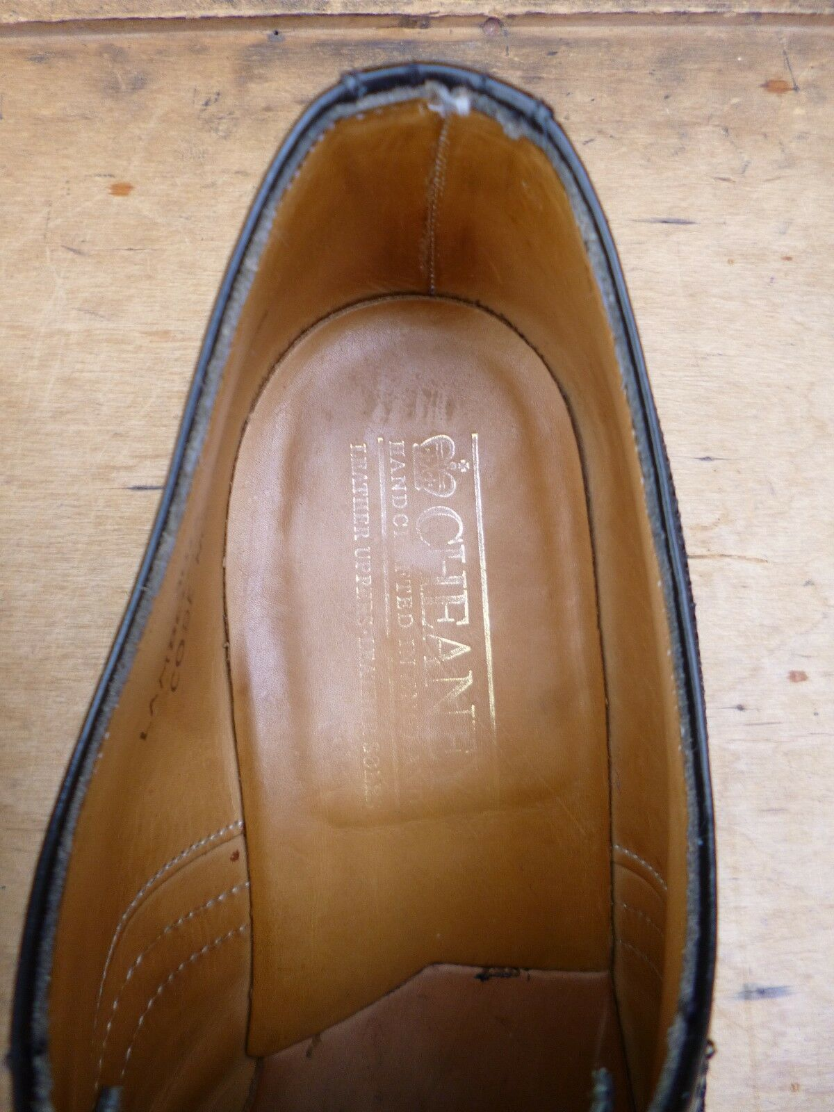 CHEANEY / / / CHURCH BROGUES – BLACK – UK 7.5 – LAMBETH - EXCELLENT CONDITION 0f2e2d