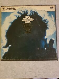 Bob Dylan's Greatest Hits R2R Reel to Reel HC 1019 4-Track 3 3/4IPS not tested