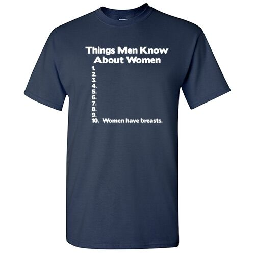 Things Me Know Sarcastic Men/'s Graphic Gift Idea Funny Novelty T-shirts