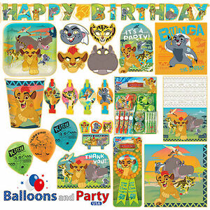 Image Is Loading Disney Lion Guard King Birthday Party Tableware Decorations