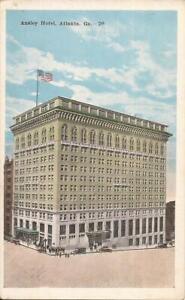 Atlanta-GEORGIA-Ansley-Hotel-ARCHITECTURE-old-cars