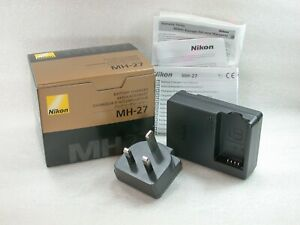 Genuine-NIKON-Battery-Charger-MH-27-For-The-Nikon-EN-EL20-Lithium-Ion-Battery