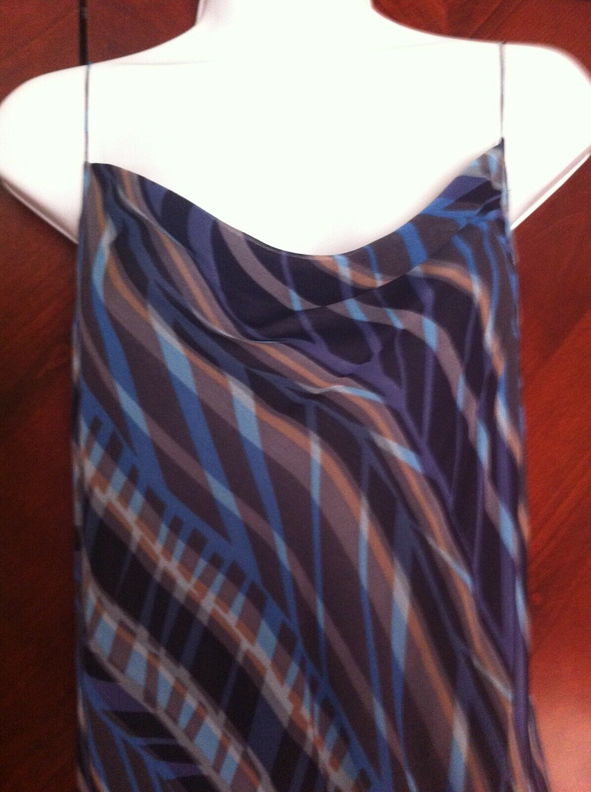 DKNY DKNY DKNY women Karan Dress Silk bluee Size 6 657a5b