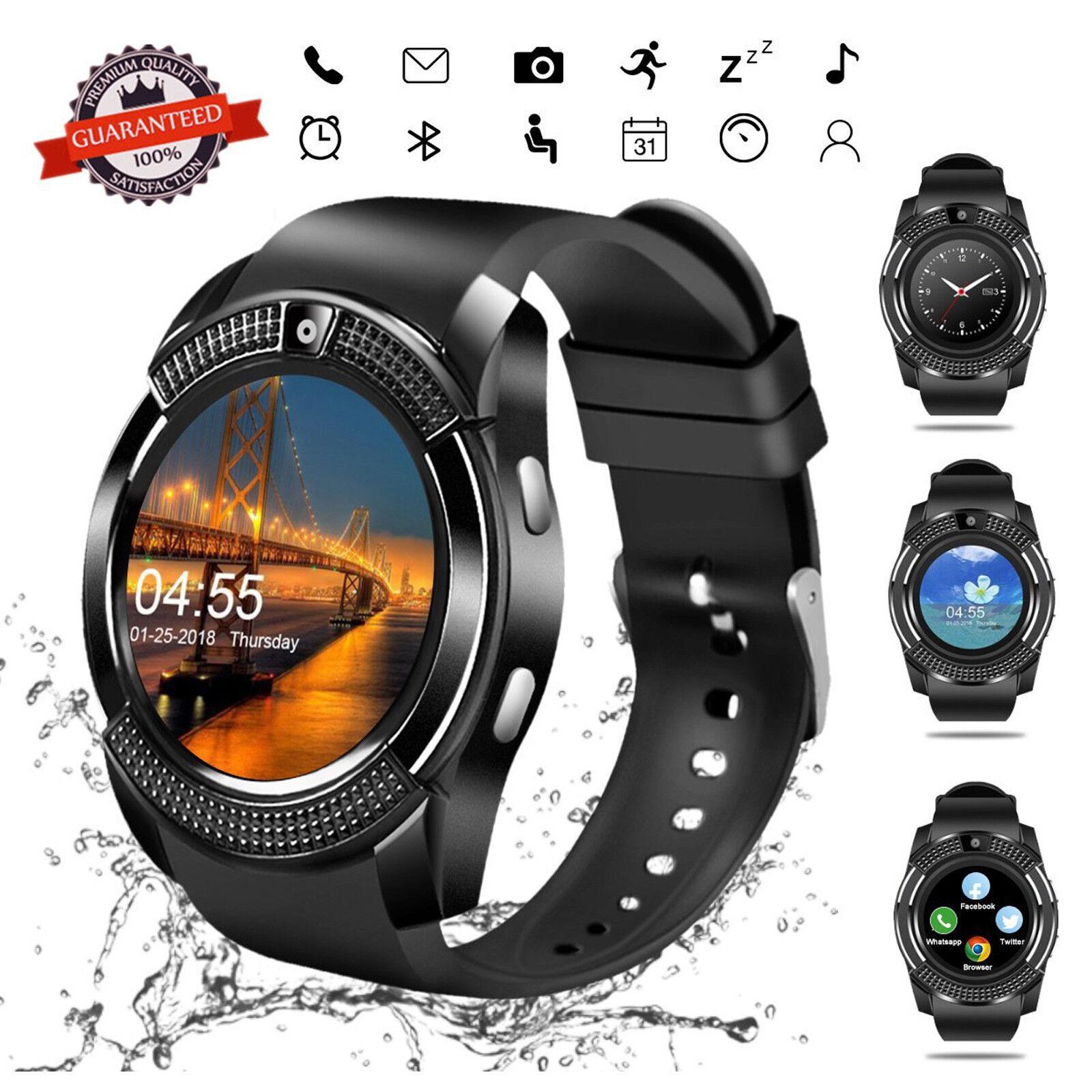 Smart Watch Bluetooth Smartwatch Touch Screen for Men Women