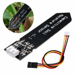 2Stück Kapazitiver Feuchtigkeitssensor Blumenerde Hygrometer Rostfrei f Arduino
