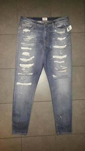 Nico Hudson Midrise in Spaw Distressed 27 Jeans Skinny Super Stretch 265 Sz 5TOEfnxw