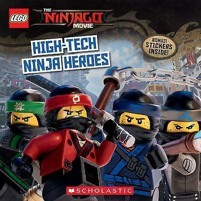 Lego Ninjago Movie Ser High Tech Ninja Heroes By Michael Petranek 2017 Trade Paperback For Sale Online Ebay