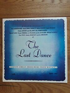 Various-The-Last-Dance-Twenty-Great-Smoochers-From-Motown-IM-46-025-Vinyl-LP