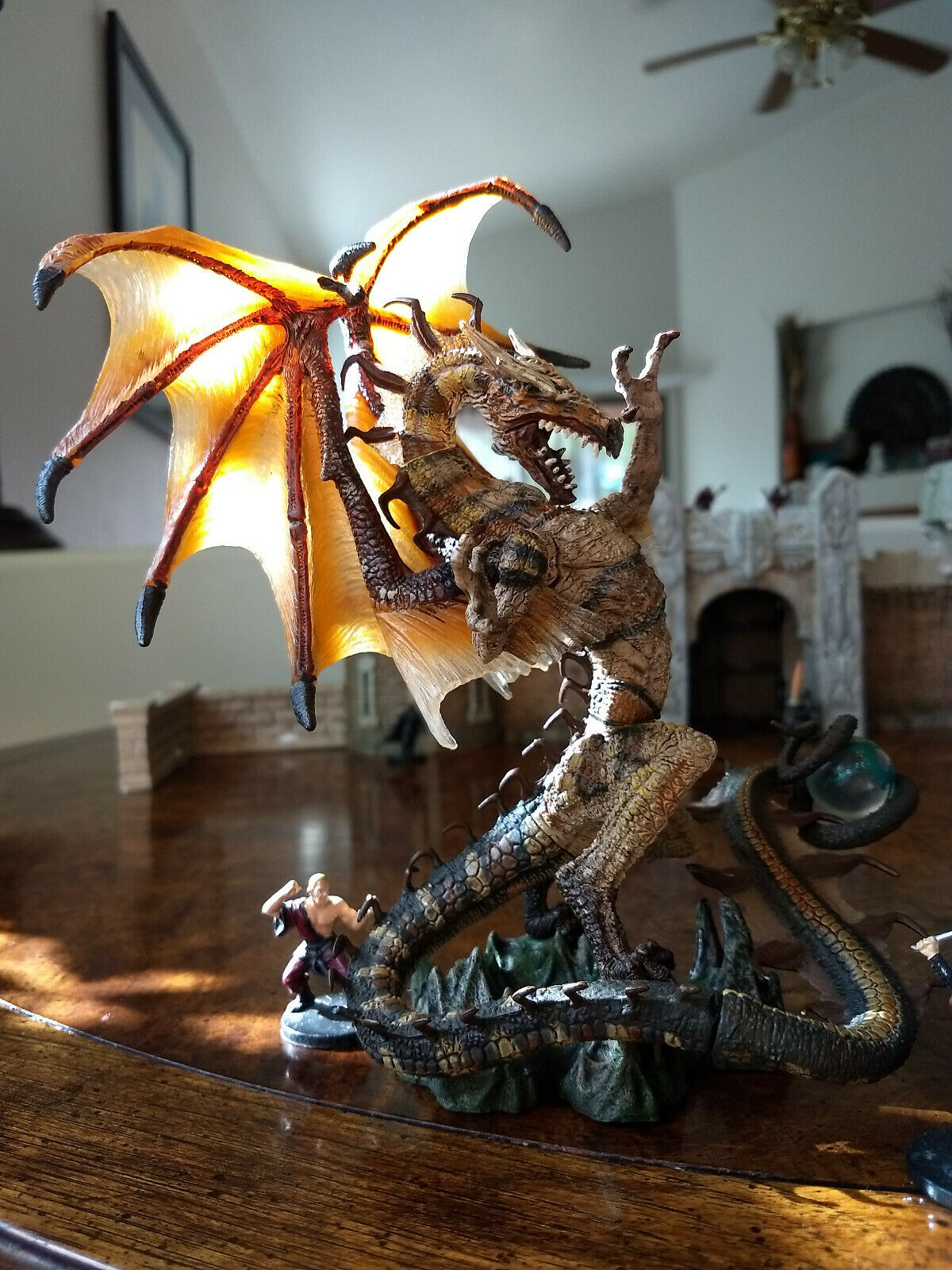 Brass Dragon Copper Dragon. Huge Gargantuan D&D Mcfarlane Pathfinder