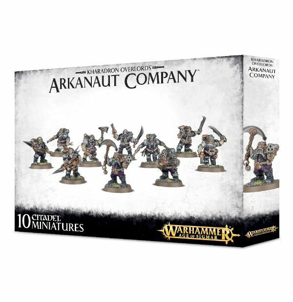 Kharadron Overlords Arkanaut Company Games Workshop Age of Sigmar Warhammer