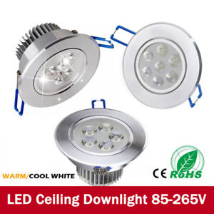 Dimmable-3W-7W-12W-LED-Ceiling-Downlights-Recessed-Spotlights-Round-Tilt-220V