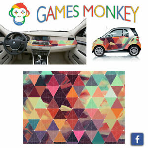 Pellicola-Car-Wrapping-Adesiva-70x50-cm-GEOMETRIC-TEXT-Vinile-PVC-Lucido-HD