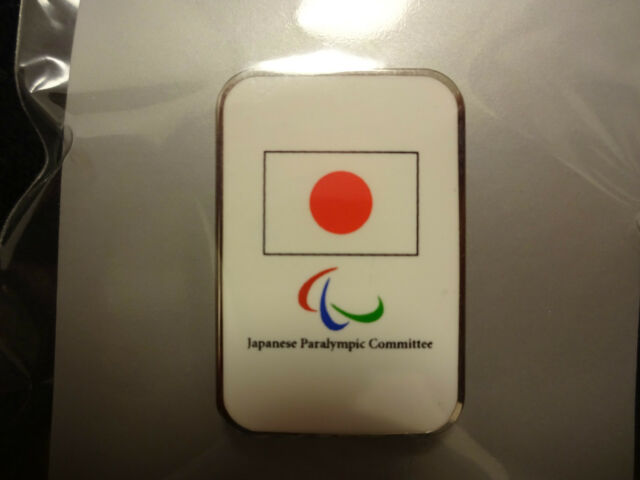 JAPAN PARALYMPIC PIN BADGE JAPANESE TEAM PINS