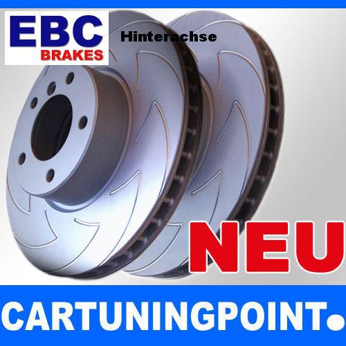 EBC Discos de freno eje trasero CARBONO DISC PARA AUDI ALLROAD 4bh bsd1054