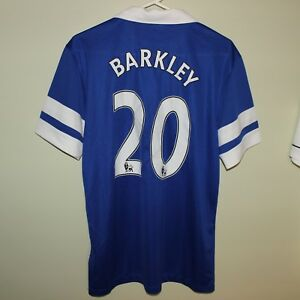 sports shoes 77275 37c3d Details about Ross BARKLEY #20 mint unworn EVERTON FC 2013-14 Nike home  football shirt jersey