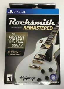 Rocksmith-2014-Edition-Remastered-PS4-Brand-New-Real-Tone-Cable-Included