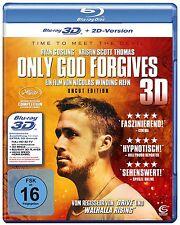 ONLY GOD FORGIVES (3-D) Ryan Gosling) - Blu Ray - Sealed Region B for UK
