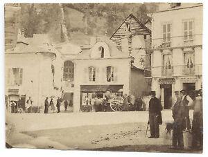 France à Identifier Vintage Albumine Ca 1865 Petit Format 5,7x7,5 Cm