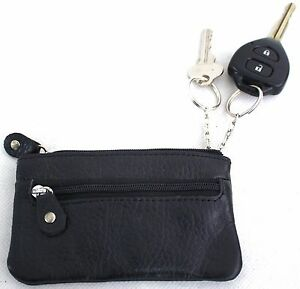 Quality-Full-Grain-Cow-Hide-Leather-Coin-Purse-with-Key-Rings-on-Interior-11018