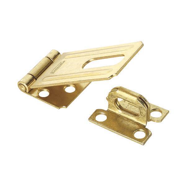 25 Pk Steel Brass Finish 3 1/4