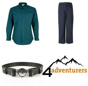 Scout-Uniform-Shirt-Blouse-Trousers-Belt-Official-District-Scout