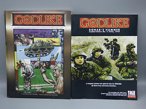 Details about Goodlike Superhero RPG Roleplaying Game Sourcebook World on  Fire Donar's Hammer