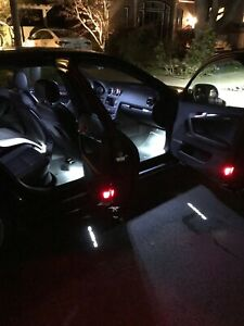 Details about Audi A3, A4, A5, A6, TT, Q3, Q5 Door LED Puddle & Warning  Light Loom Kit