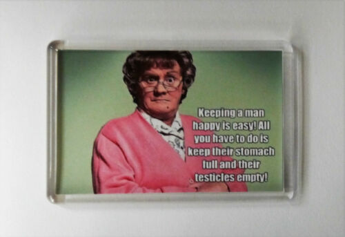 MRS BROWNS BOYS FRIDGE MAGNET  Funny Rude FREE POSTAGE