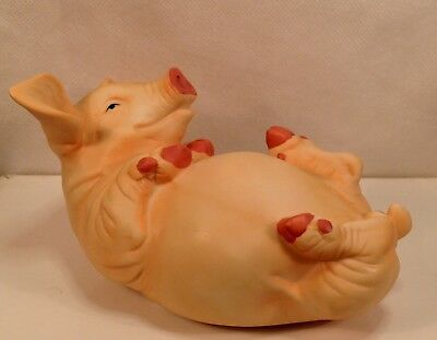 Ceramic Life Like Miniature Pig Or Hog Farm Collectible Ebay