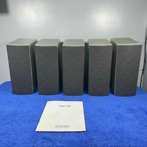 Quality Sequence Style 20 Speakers (X5) Surround Sound + manual - BOXED RARE