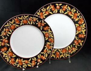 Dansk-APPLE-BLOSSOM-Dinner-Plate-Salad-plate-Made-in-Japan-LIGHT-USE