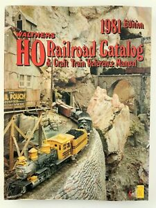 Walthers HO Railroad Catalog Craft Train Reference Manual 1981 Edition U561