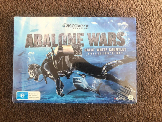 Abalone Wars - Great White Gauntlet Collectors Set - 4 Seasons Brand New Sealed!