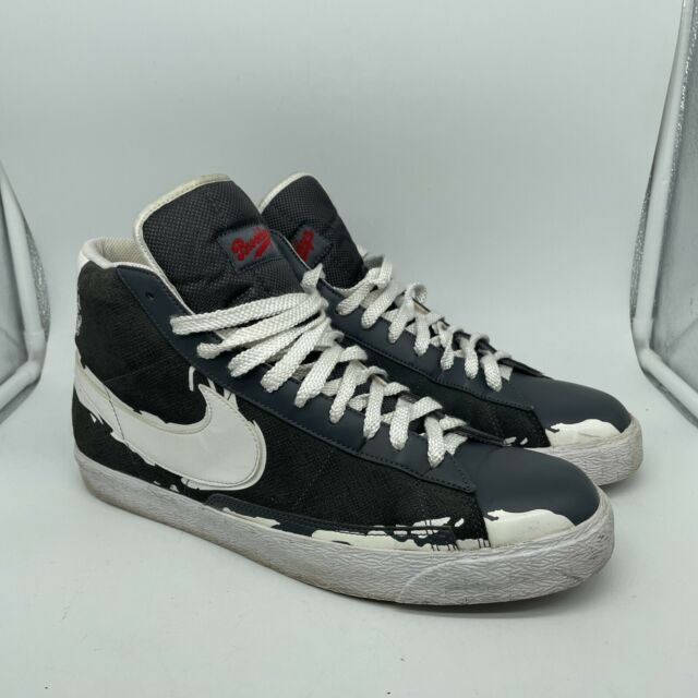 Nike Mens SB Blazer Jackie Robinson Brooklyn Dodgers High Top SNEAKERS Size  13
