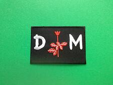 HEAVY METAL PUNK ROCK MUSIC SEW ON / IRON ON PATCH:- DEPECHE MODE (b) D.M.