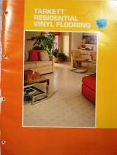TARKETT Residential Vinyl Flooring Asbestos FREE Catalog 1982 GAFSTAR Tile