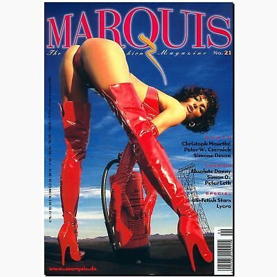 Marquis 21 2000 Fetish Magazin Lack Latex Gummi BDSM EROTIK MODE Peter Czernich