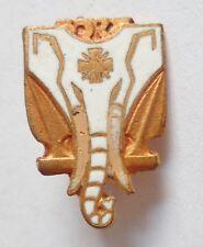 insigne boutonnière MARINE Aviso Dragueur Commandant BORY éléphant miniature 2