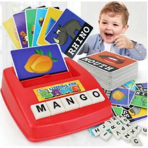 Matching Letter Game Spelling Reading English Alphabet Letters Card Match G LD