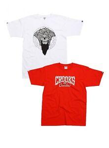 Crooks & Castles Core Logo T Shirt Noir